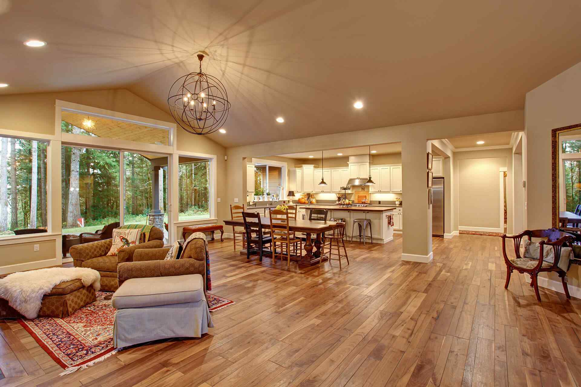 $6.50 Per Sq. Ft. Hardwood Flooring Including Installation