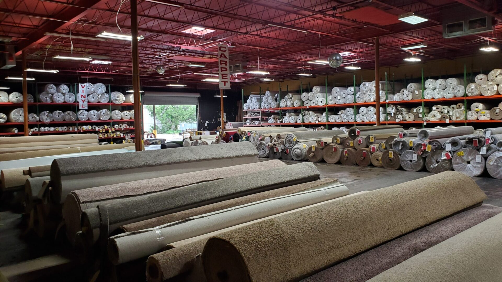 $0.99 Per Sq. Ft. Plush Carpet Installed with Padding